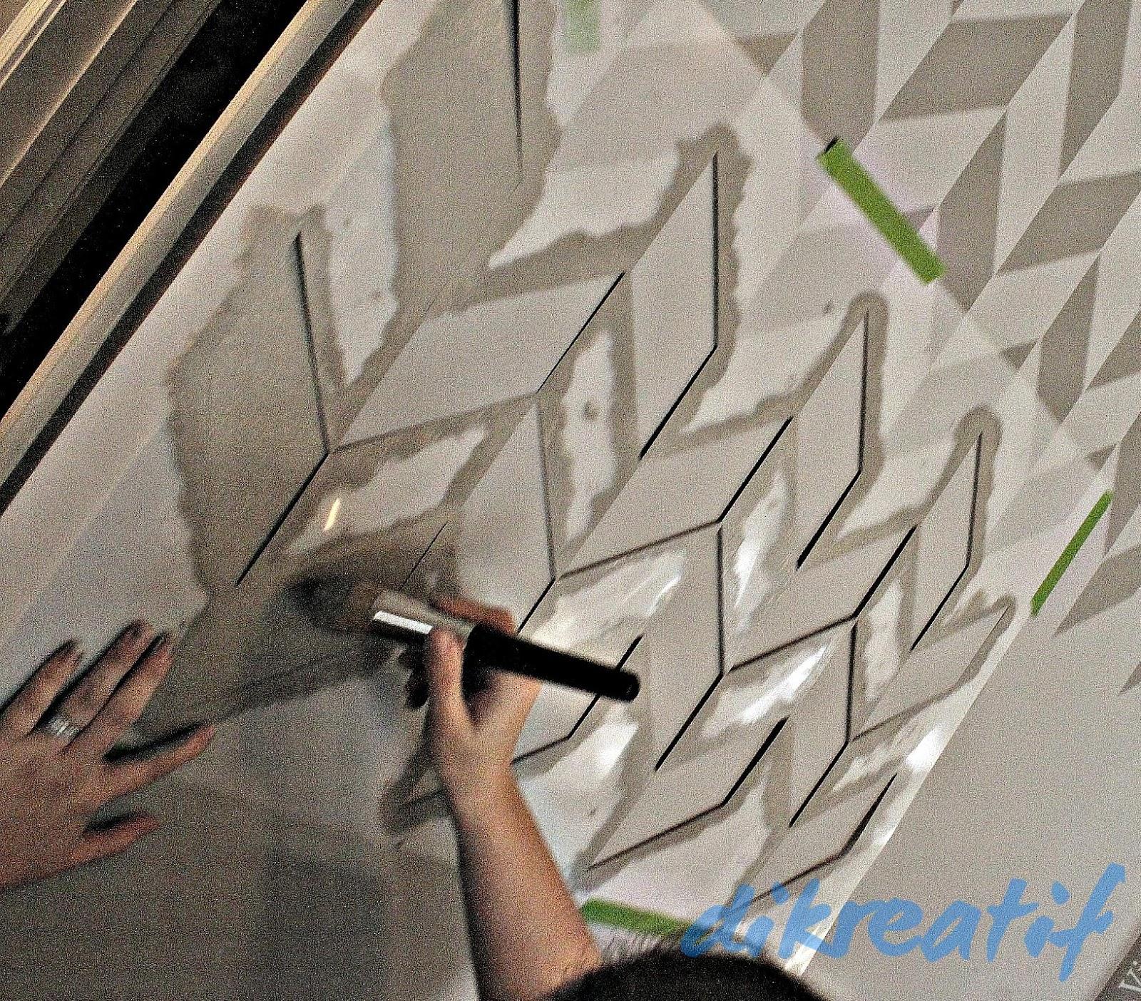 Kreasi Ngecat Dinding Kamar Dengan Model Stensil Dikreatif Aktif