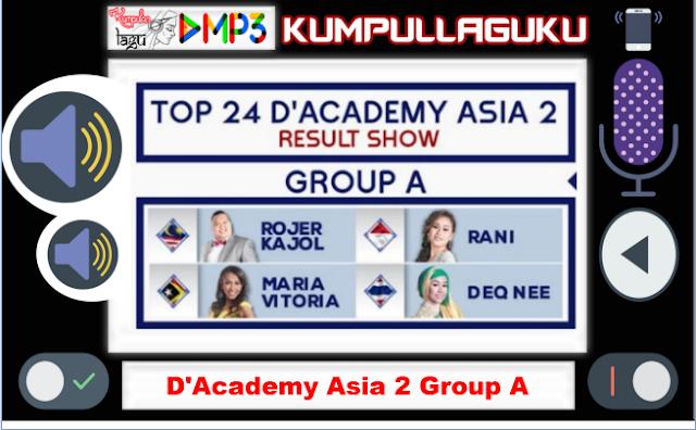 Lagu D'Academy Asia 2