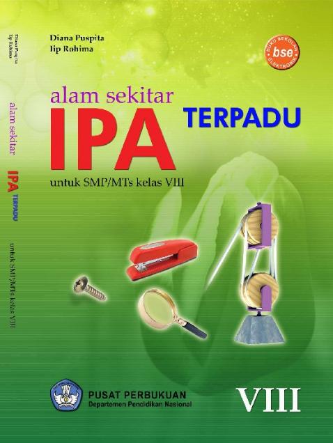 Download Buku Siswa KTSP SMP dan MTs Kelas 8 Alam Sekitar IPA Terpadu