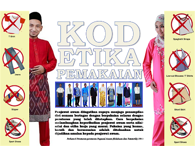 Eksa Promosi Jupem Johor Poster Kod Etika Pemakaian