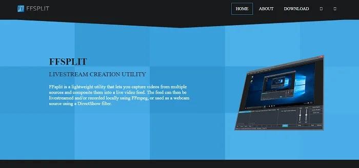 FFSplit - Camtasia Alternatives Screen Recorders