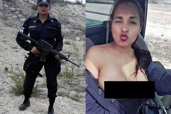 Μεξικό- Αστυνομικίνα δημοσίευσε selfie,αλλά δε έχασε γι΄αυτό την δουλειά της – Δείτε γιατί. (Εικόνες)
