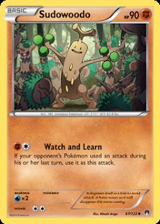 Sudowoodo BREAKpoint Pokemon Card