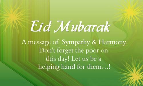 Happy Eid al Mubarak Greetings 2018