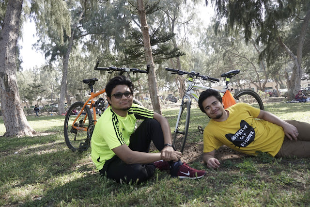 Cycling To Montazah Aexandria, Egypt With Friends