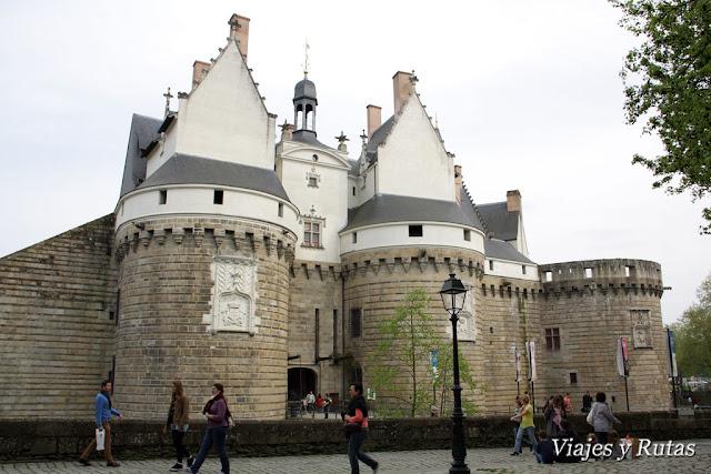 Castillo de los duques de Bretaña, Nantes