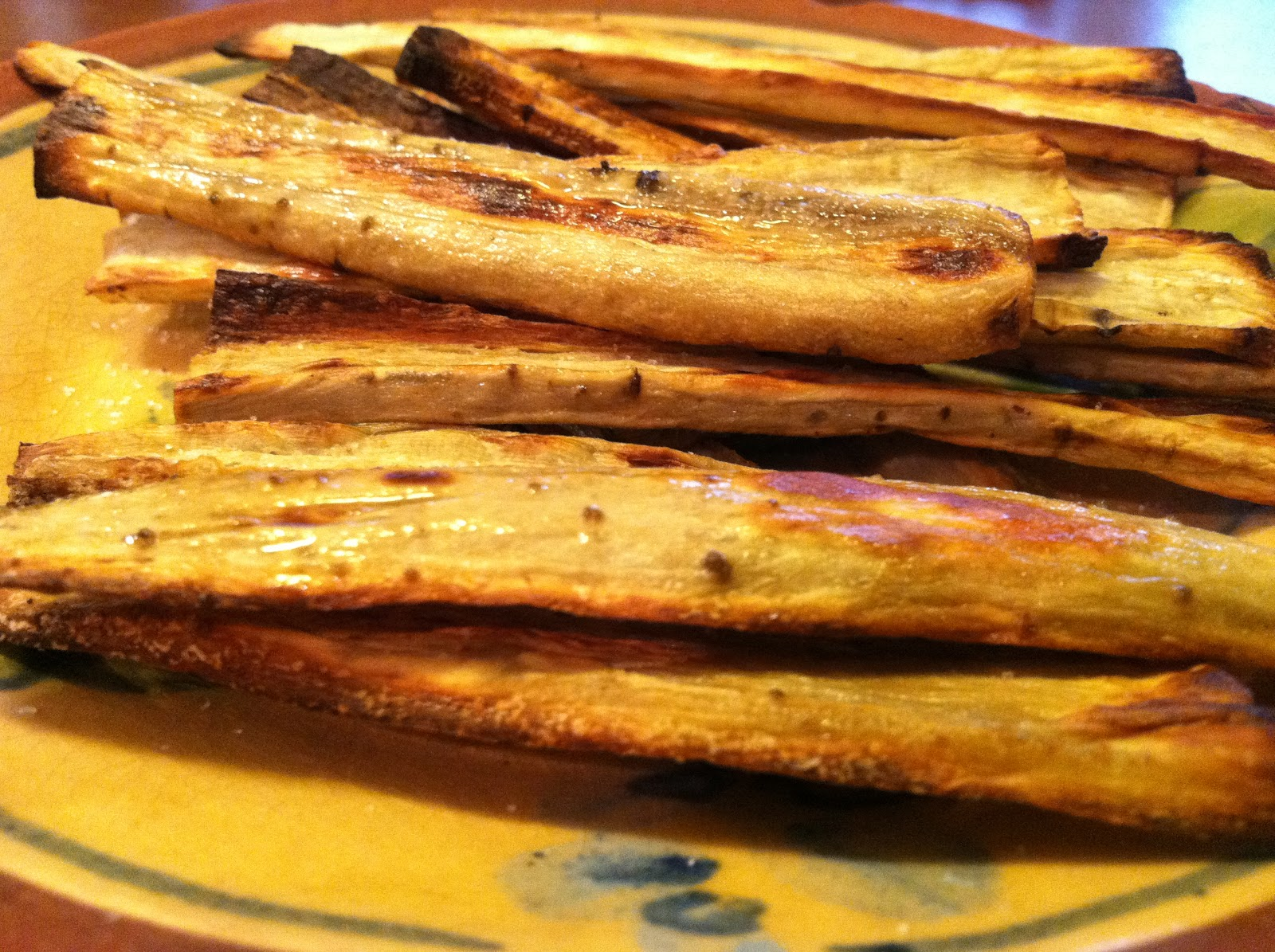 Slowcooked RX: Oven Roasted Burdock Chips