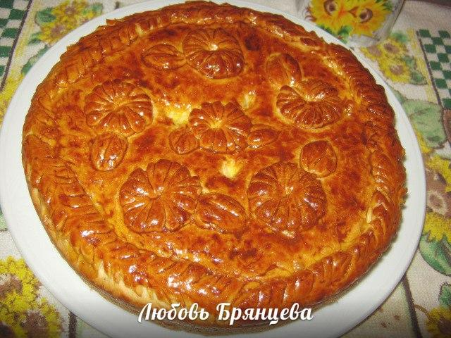 рецепт пирога с капустой и шампиньонами