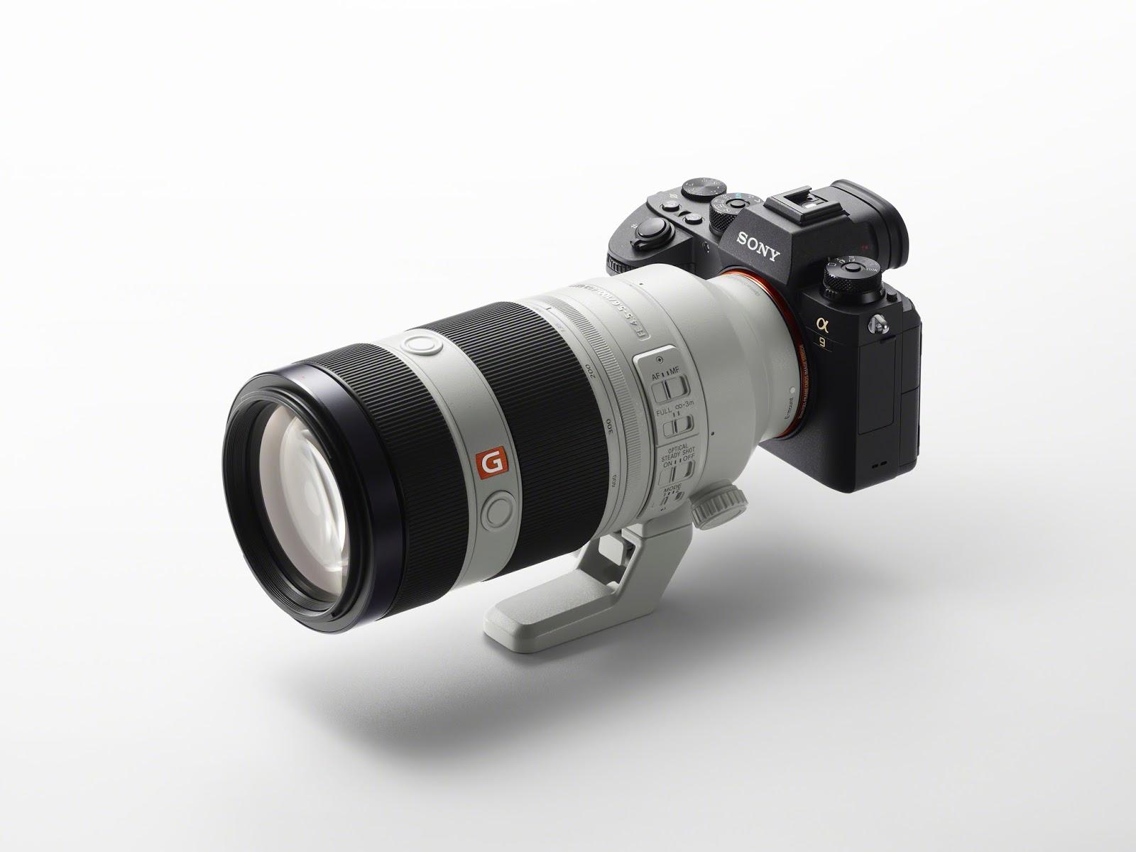 Sony A9 с объективом 100-400mm
