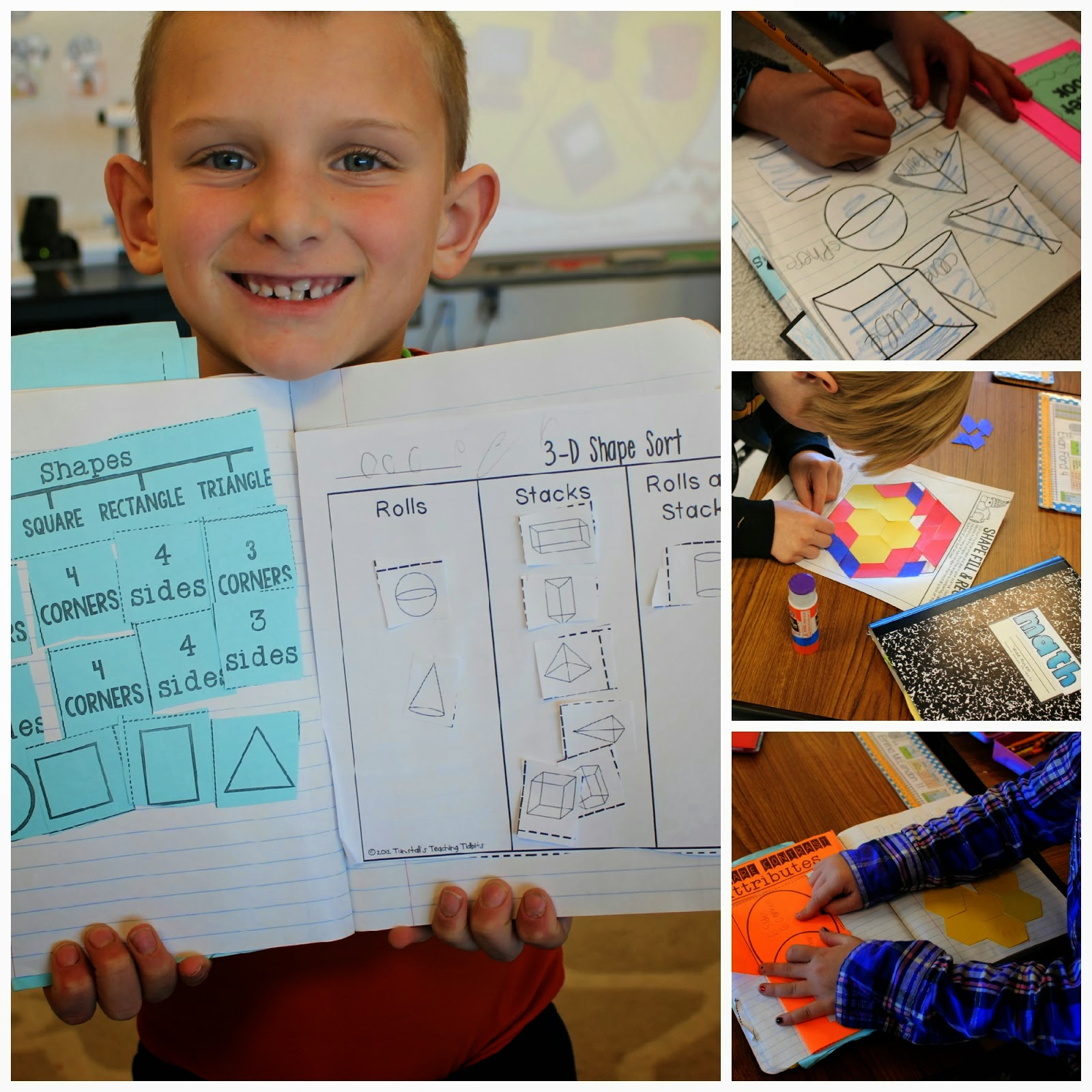 Primary Geometry Making The Grade With Shapes