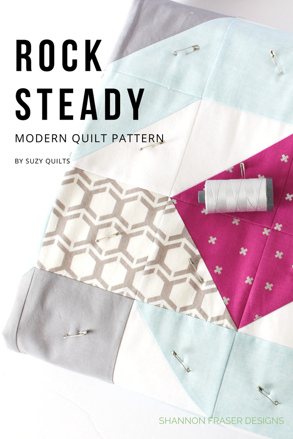 Rocksteady Quilt | Pattern by Suzy Quilts | Q4 2018 FAL | Shannon Fraser Designs