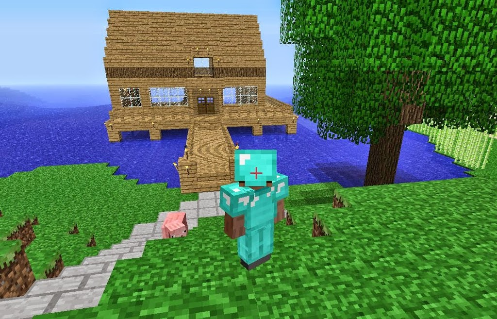Free download minecraft for pc for window 8/7/xp.
