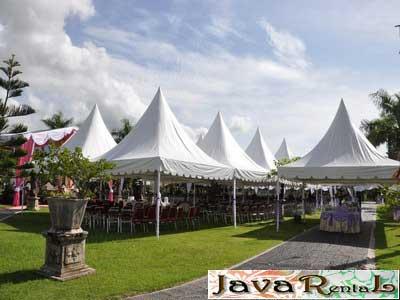 Rental Tenda Kerucut - Pameran