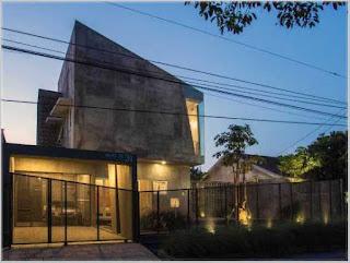 model pintu gerbang perumahan minimalis