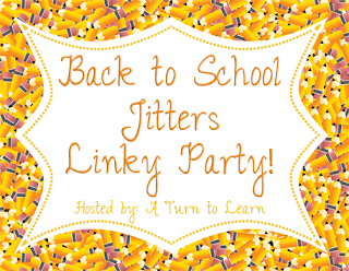 Back to School Jitters Linky Party