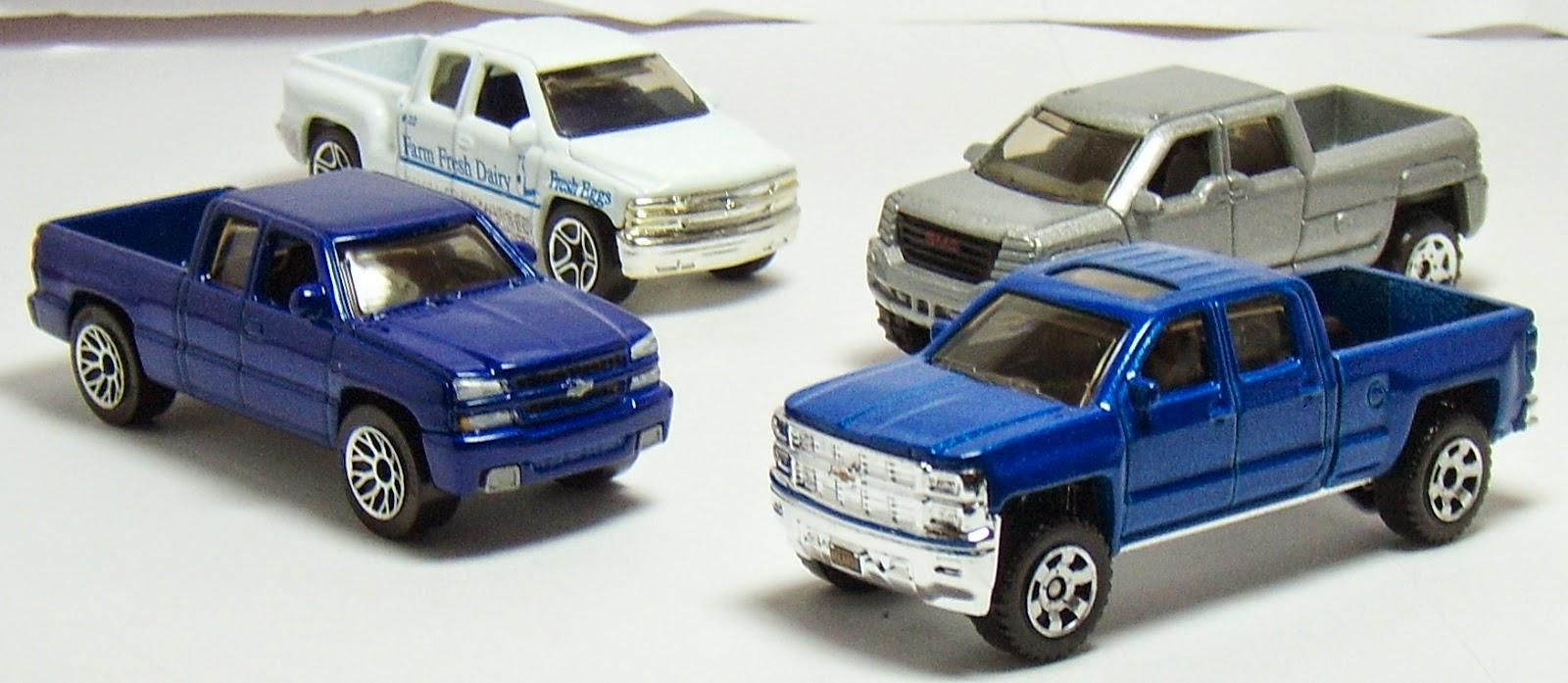 All Chevy chevy 2005 : Two Lane Desktop: Matchbox 2014, 2005, 1999 Chevy Silverado and ...