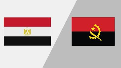 مشاهدة مباراة مصر وانجولا بث مباشر اليوم