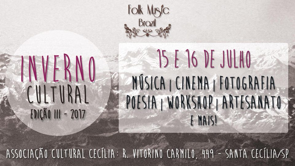 Inverno Cultural III - Folk Music Brazil