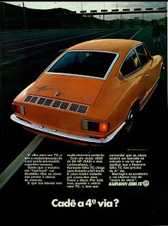 propaganda Karmann Ghia TC - 1971