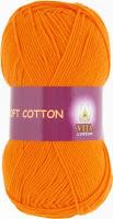 пряжа Vita  Soft Cotton оранжевый