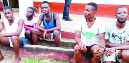 Police Arrest Yahoo Boys Operating With Charms