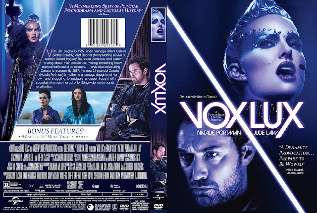 Vox Lux DVD Cover