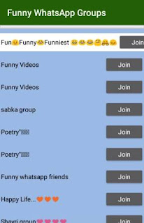 Download Whatsapp Groups Link join application - Group Join Free Apk download, here you download the WhatsApp Groups application and enjoy.