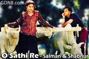 O Sathi Re Jeona Kokhono Dure - Salman Shah & Shabnur