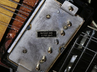 Gibson Patent Number Pickup image from Bobby Owsinski's Big Picture production blog