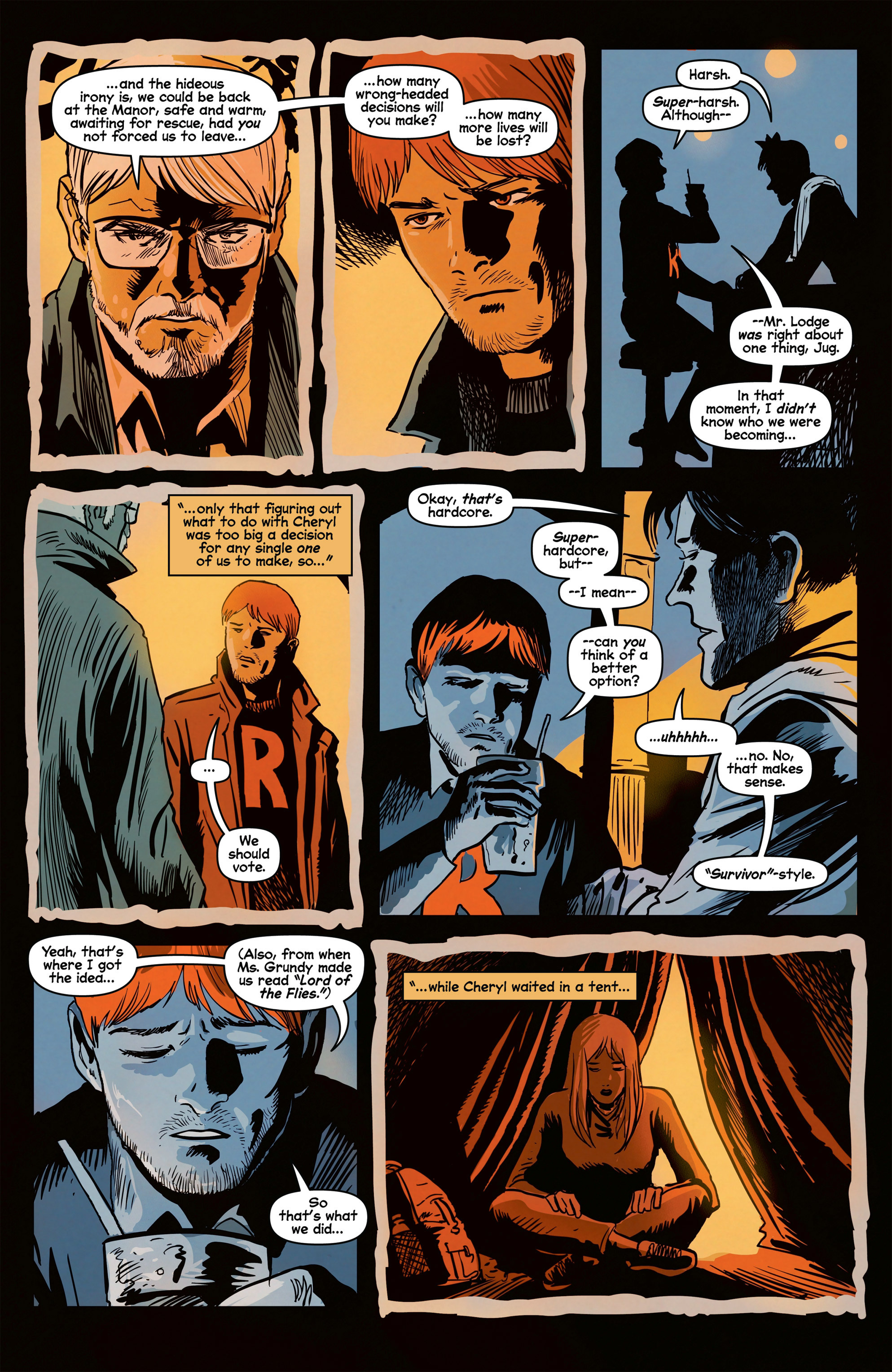 Read online Afterlife with Archie comic -  Issue #8 - 9