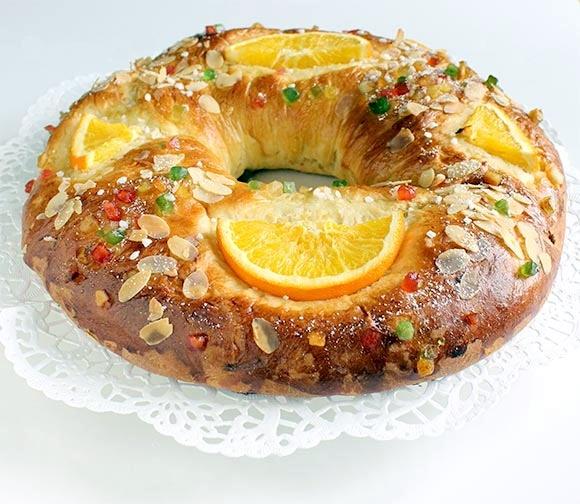 Roscon De Reyes Vegetariano