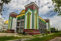 Jurusan dan Daya Tampung SPAN PTKIN Institut Agama Islam Negeri Palangkaraya  (IAIN Palangkaraya)