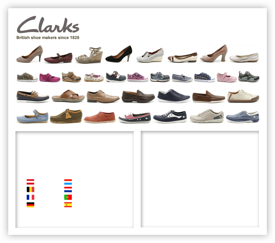 Clarks Shoes Customer Support