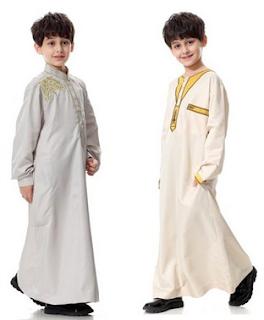 baju lebaran anak dari alyssa soebandono pemberian dari shireen sungkar