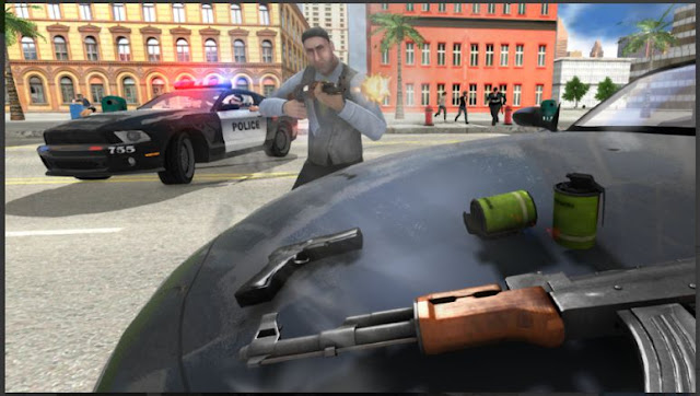 Game Mirip GTA Offline Gangster Crime Car Simulator