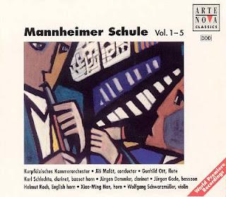 Jirí Malát – Mannheimer Schule Vol.1-5