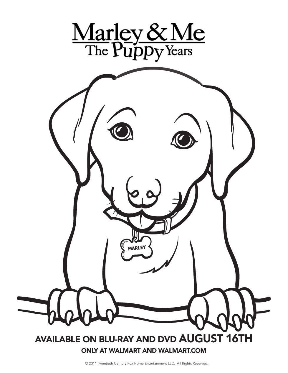 Dad of Divas' Reviews: MARLEY & ME: THE PUPPY YEARS