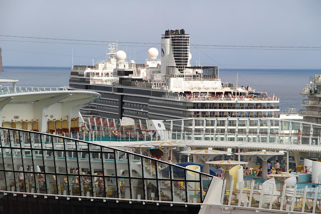 cruise ships in the port of Funchal