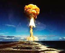 Foto de una verdadera explosión