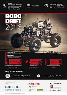 RoboDrift 2016 - Oficjalny plakat.
