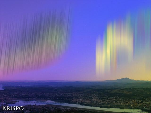 aurora boreal en euskal herria