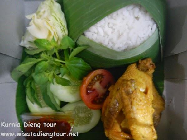 menu nasi ayam goreng