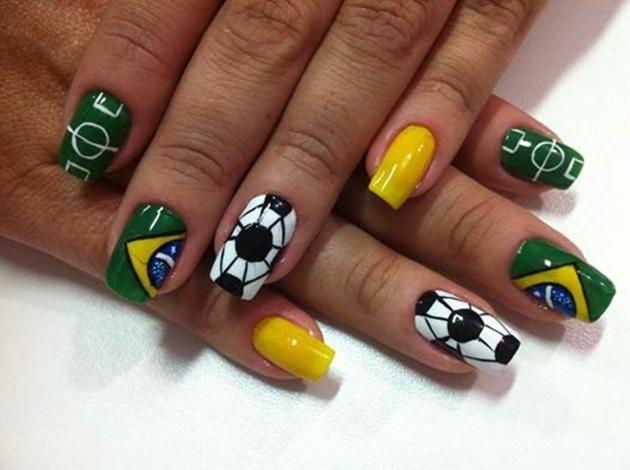 copa do mundo , brasil, 2018,verde , amarelo , decorada