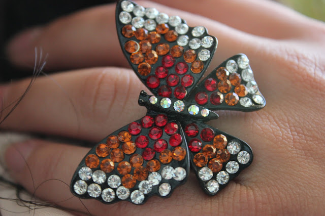 Forever 21 Monarch Butterfly Ring