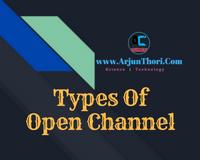 classification of open channel