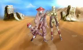 Hình ảnh Thợ Săn Sa Mạc