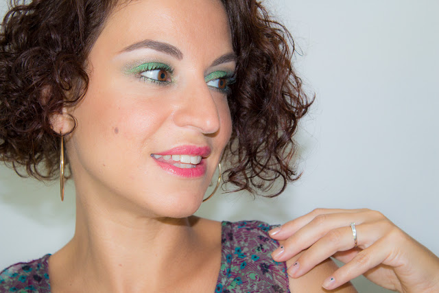 maquillage-vert-gris-Kryptonite