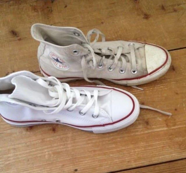 07da74c47 يُمكنك تنظيف الحذاء بكل سهولة وجعله كالجديد من خلال ماء ميسيلار دون بذل  مجهود كبير .