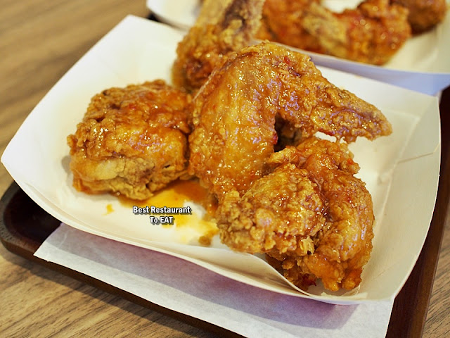 Harley's Menu - Hot Wings