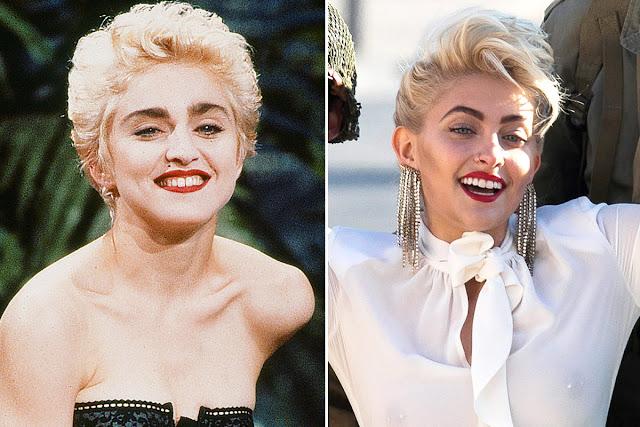 Paris Jackson Madonna style